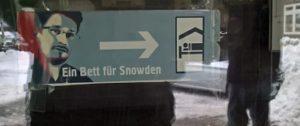 Ein Bett für Whistleblower - Eingang zum Haus Berlin