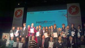 Jugend forscht 2017 Feierstunde